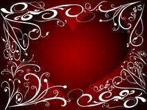 2 serce Obraz Stock