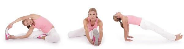 2 series stretching Στοκ Εικόνα