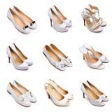 2 set skor för lampa Fotografering för Bildbyråer