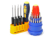 2 sets of screw-drivers Royalty Free Stock Photo