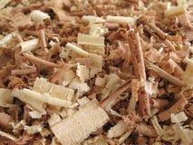 2 shavings деревянного Стоковые Фото