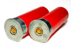 2 Shotgun Shells Stock Photos