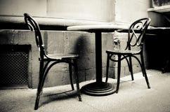 2 sillas Fotografía de archivo libre de regalías
