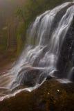 2 silvervattenfall Royaltyfri Fotografi
