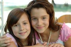 2 siostry. obraz royalty free