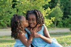 2 siostry. Zdjęcia Royalty Free
