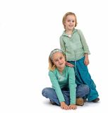 2 sisters Royalty Free Stock Photo