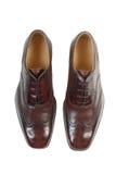 2 skor för man s Royaltyfri Foto