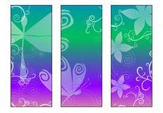 2 sländaskymningserie royaltyfri illustrationer