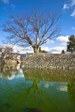 2 slott matsumoto Arkivbilder