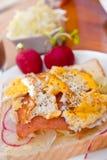 2 smörgåsserie Royaltyfria Bilder