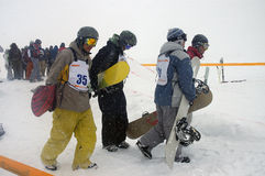 2 snowboard Obraz Stock