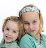 2 soeurs Photo libre de droits