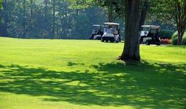 2 solig dag golf Fotografering för Bildbyråer
