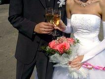 2 som gifta sig Royaltyfri Bild