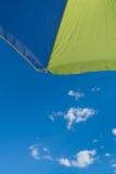 2 sommar paraply Arkivbild