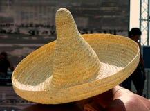 2 sotto 1 cappello messicano Immagini Stock Libere da Diritti