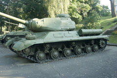 IS-2 - Soviet heavy tank from World War II Royalty Free Stock Images