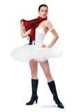 2 spódniczka baletnicy dziewczyn. Zdjęcia Royalty Free