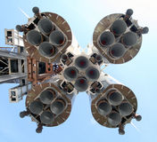 2 spaceship vostok arkivfoto