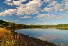 2 spadków jezioro Zdjęcia Royalty Free