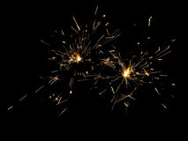 2 sparkler obraz royalty free