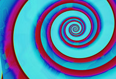 2 spiral Arkivfoto