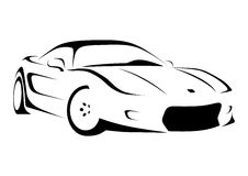 2 sportcar Стоковое Изображение RF
