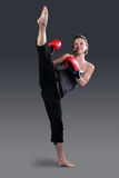 2 sprawność fizyczna instruktor Zdjęcie Stock