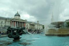 2 springbrunn london Royaltyfri Fotografi
