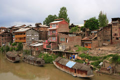 2 Srinagar Kashmiru żyje Obraz Royalty Free