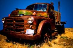 2 stara ciężarówka Fotografia Stock