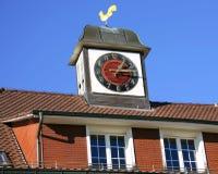 2 stara wieżyczka zegara Zdjęcie Stock
