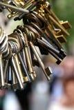 2 starego klucza Zdjęcie Royalty Free