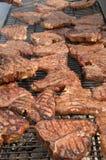 2 steaks Arkivfoto