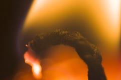 2 stearinljus flamma royaltyfri bild