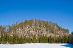 2 stora klippor Arkivbilder