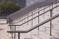 2 stora utomhus- trappa Royaltyfri Bild