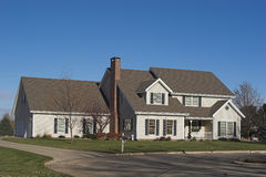 A 2-Story Executive Home Stock Images