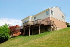 2-Story mattone residenziale Hous Fotografie Stock