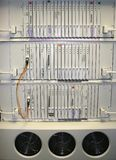 2 strömbrytaretelecom Arkivfoton