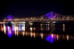 2. Straßen-Brücke Stockfotografie