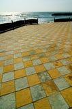 2 strand stängt olimsemesterortlager Royaltyfria Bilder
