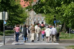 2 strollers Στοκ φωτογραφία με δικαίωμα ελεύθερης χρήσης