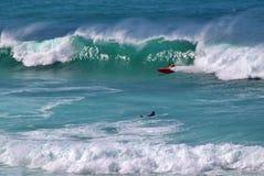 2 surfarear Royaltyfria Bilder