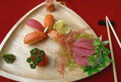2 sushi royaltyfri bild
