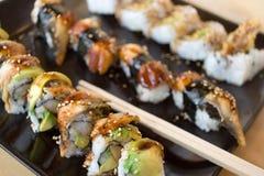 2 sushi Royaltyfria Bilder