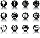2 symbole jednostek gospodarczych ustalonej Zdjęcia Royalty Free