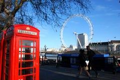 2 symboler london Arkivbilder