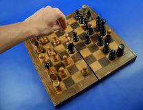 2 szachy Obrazy Royalty Free